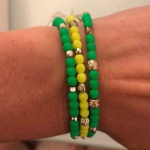 Handmade beaded bracelets